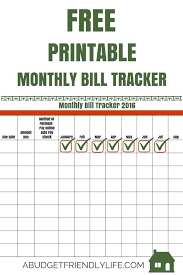 Printable Monthly Bill Payment Calendar Bills Due List Organizer ...