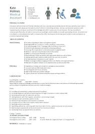 Resume Example For Medical Assistant Assistant Resume Examples