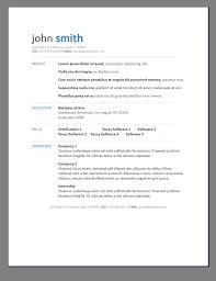 Modern Cv Word Modern Printable Resume Download Them Or Print