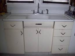 vintage metal kitchen cabinet beauteous kitchen sink cupboards