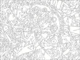 Small Picture Free Printable Paint Numbers For Adults Az Coloring Pages free