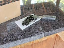 how to glue granite chip