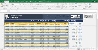 Prepare Invoice Invoice Tracker Free Excel Template For Small Business