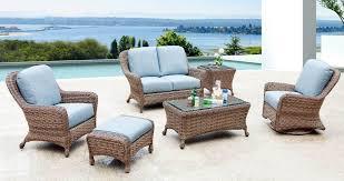 light colored wicker patio furniture