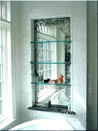 mercury s mirror blotchy antique with shelf into marble creative effect glass mercury mirror by glass