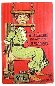 historic ads opposing women s suffrage that ll make you sick 13 you leave us no choice but wait how will she clean