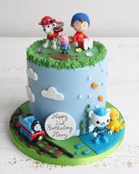 Kids Tv Characters Cake Cake Crumbs In 2019 Birthday Cake Cake