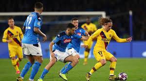 Barcelona vs napoli the blaugrana's season hangs in the balance. Napoli 1 1 Barcelone Avantage Blaugrana Uefa Champions League Uefa Com