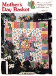 10 best Quilt Shop Class Pattern Projects images on Pinterest ... & Quilt Shop Class Project ~ 10 ~ Mother's Day Basket Wall Quilt Pattern  #Unbranded Adamdwight.com