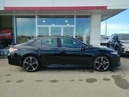 2018 toyota xse for sale. simple xse blackmidnight black metallic 2018 toyota camry xse right side photo in  prince albert with toyota xse for sale