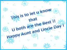 greetings on aunt & uncle's day free aunt & uncle's day ecards Happy Wedding Anniversary Wishes Uncle Aunty greetings on aunt & uncle's happy marriage anniversary wishes to uncle and aunty