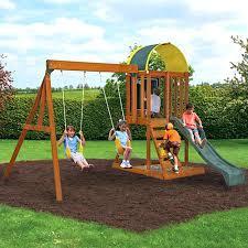 Backyard Playground Ideas  attractive Backyard Playground Slides  Dawnwatson with Kids Home Playground