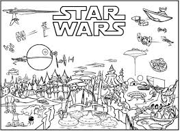 Charming Decoration Lego Star Wars Coloring Page Colouring Pages