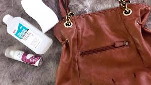 you might think that an ugly ink stain is the kiss of for a leather handbag ink is notoriously hard to remove and leather is easily ruined