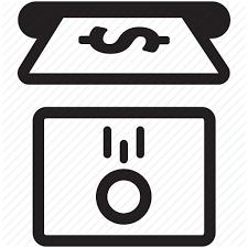 Vending Machine Sign Stunning Banking Change Exchange Money Receive Ticket Machine Vending
