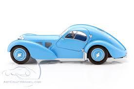 Bugatti 57sc atlantic 1938 1/43. Bugatti Type 57 Sc Atlantic Year 1938 Light Blue S1802104 Ean 3663506011221