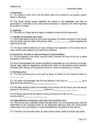 Sample Bill Of Sale For Car Pdf Sample Bill Of Sale For Car Pdf And Sample Automobile Bill Of Sale