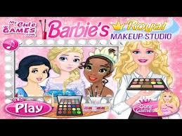 barbie s royal makeup studio game barbie makeup face art games