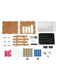 kkmoon diy mcu calculator kit digital calculator with transpa case zpagdgfnr