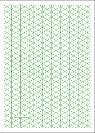 13 Free Printable Isometric Graph Paper For Download Sample
