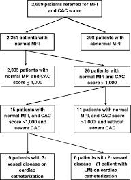 Agatston Score Chart Very High Coronary Artery Calcium Score With Normal