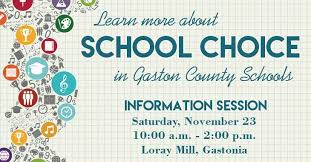 First School Choice Info Session Is November 23