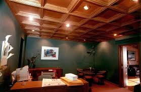 office wood paneling. Best Grid Wood Ceiling Panels For Home Office Design Paneling