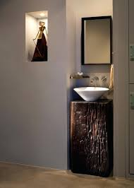 pedestal bowl sink inspired sink in powder room contemporary with small powder room sink next to pedestal bowl sink