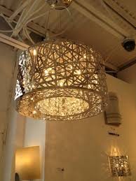 modern glass chandelier lighting  furniture ideas