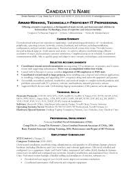 Winning Resume Templates New Winning Resume Examples Award Winning Resume Samples Fresh It Resume