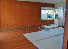 diy painting wood paneling