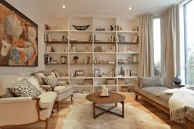 shelving furniture living room. Neutral Living Room With Built Ins Shelving Furniture N