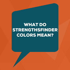 Strengthsfinder Themes Chart What Do Strengthsfinder Colors Mean Lead Through