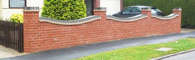 Small Picture Garden Brick Wall Designs Cadagu Awesome Brick Wall Fence Designs