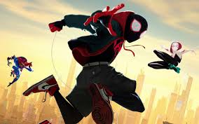 Select a style miles morales peter b parker gwen stacy. Spider Man Into The Spider Verse Wallpaper Enjpg