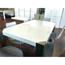white gloss dining table set white gloss table large white glossy dining table with black chairs