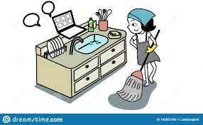 Funny Woman Work Home Stock Illustrations – 696 Funny Woman Work Home Stock  Illustrations, Vectors & Clipart - Dreamstime