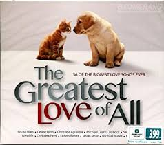 <b>Various Artists: The</b> Greatest Love Of All (2CDs)