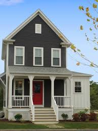 Dark Exterior Colors Can Make A Home Look Smaller But More - Exterior paint for houses