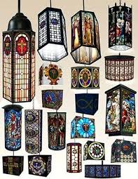 stained glass hanging lamp several beautiful lamps are pictured shades patterns vintage shade stained glass hanging lamp