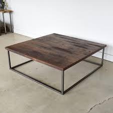 reclaimed wood steel box frame