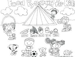 Food Coloring Sheet Showideeinfo