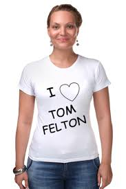 <b>Футболка</b> Стрэйч I love Tom <b>Felton</b>/Я люблю Тома Фелтона ...
