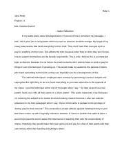 english english edwardsburg high school page course 1 pages satire reflection