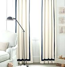 Black And White Bedroom Curtains Linen Drapes With Grosgrain Ribbon ...