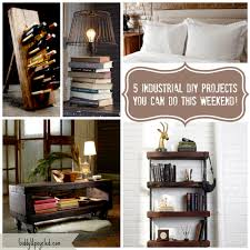 diy industrial furniture. 5 Rustic DIY Industrial Furniture Projects You Can Do This Weekend - Giddy Upcycled Diy U