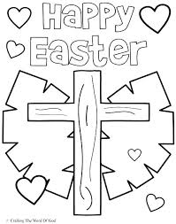 Free Coloring Pages Religious Easter Sheets Printable Download