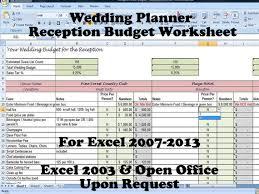 free wedding budget worksheet printable wedding budget planner worksheet download them or print