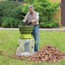 sun joe 13 amp electric leaf mulcher