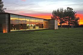 office barn. Nicolas Tye Architects Create A Modern And Eco-Friendly Studio On The Ruins  Of An Old Barn Office Barn